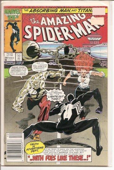 Amazing Spider-Man # 283, 8.5 VF +