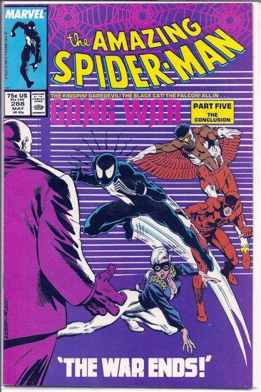 AMAZING SPIDER-MAN # 288, 7.5 VF -
