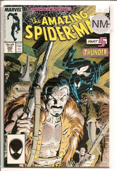 Amazing Spider-Man # 294, 9.2 NM -