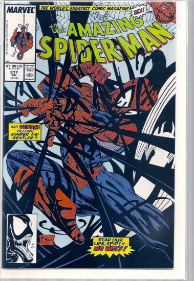 AMAZING SPIDER-MAN # 317, 9.2 NM -