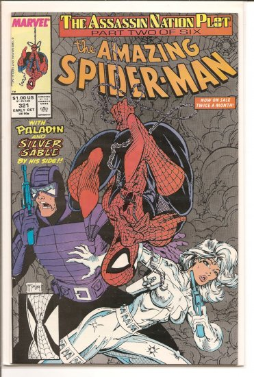 Amazing Spider-Man # 321, 9.0 VF/NM