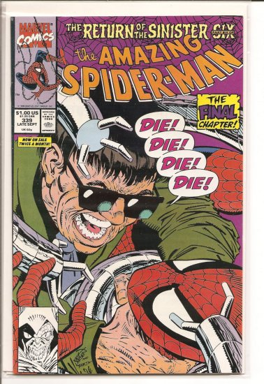Amazing Spider-Man # 339, 9.2 NM -