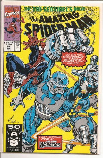 Amazing Spider-Man # 351, 9.0 VF/NM