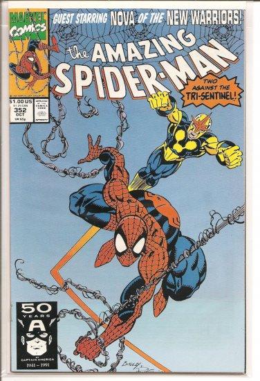 Amazing Spider-Man # 352, 9.2 NM -