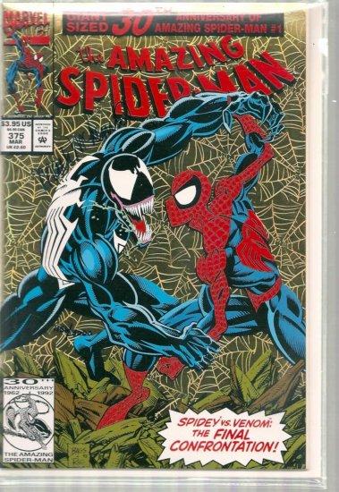 AMAZING SPIDER-MAN # 375, 9.0 VF/NM