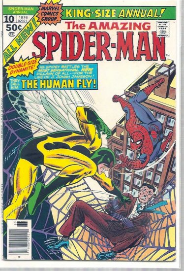 AMAZING SPIDER-MAN ANNUAL # 10, 4.5 VG +