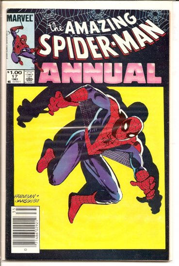 Amazing Spider-Man Annual # 17, 8.0 VF