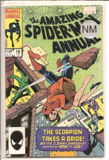 Amazing Spider-Man Annual # 18, 9.4 NM