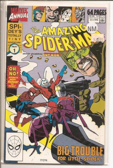 Amazing Spider-Man Annual # 24, 9.4 NM