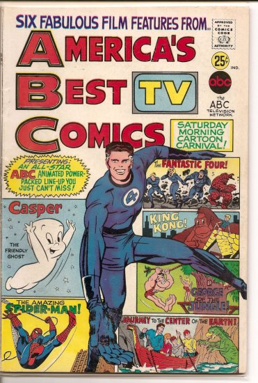 America's TV Best Comics # 1, 4.5 VG +