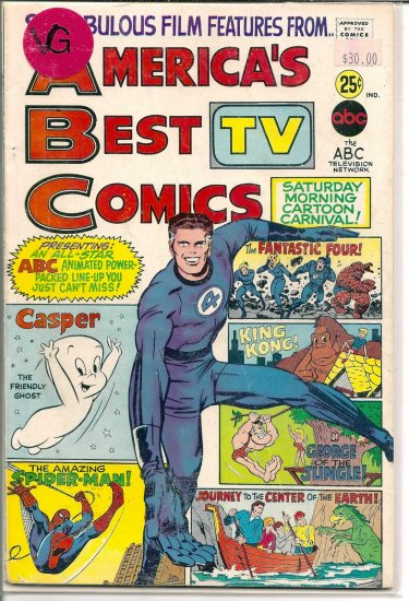 America's TV Best Comics # 1, 4.0 VG