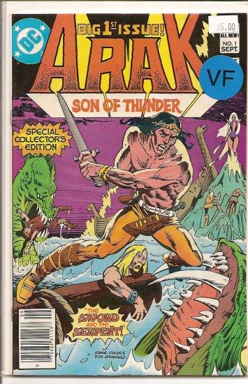 Arak/Son of Thunder # 1, 8.0 VF