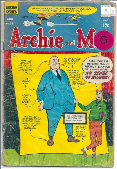 Archie And Me # 16, 2.0 GD