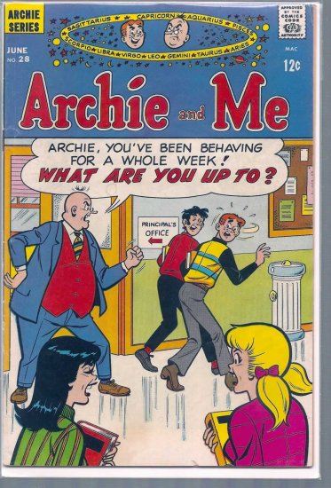 ARCHIE AND ME # 28, 4.5 VG +