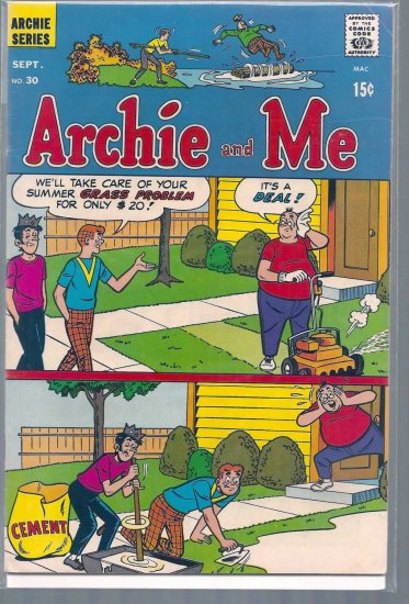 ARCHIE AND ME # 30, 6.0 FN