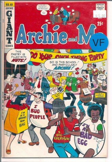 Archie And Me # 49, 8.0 VF