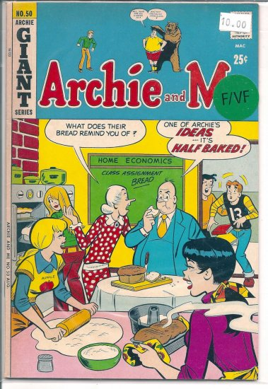 Archie And Me # 50, 7.0 FN/VF