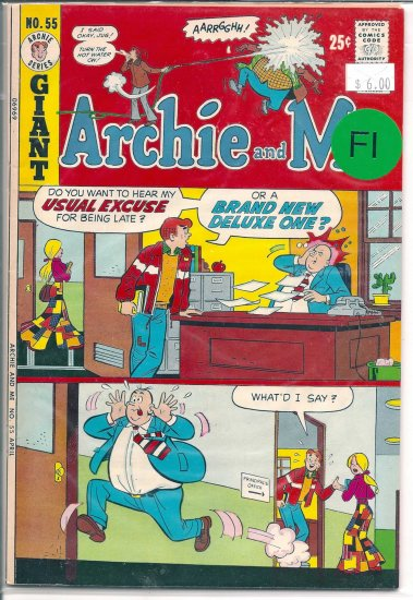 Archie And Me # 55, 6.0 FN