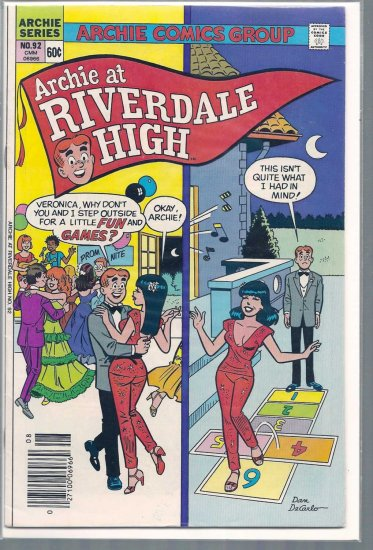 ARCHIE AT RIVERDALE HIGH # 92, 6.0 FN