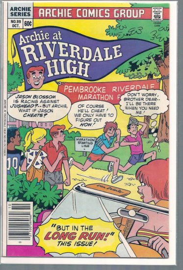 ARCHIE AT RIVERDALE HIGH # 99, 6.0 FN
