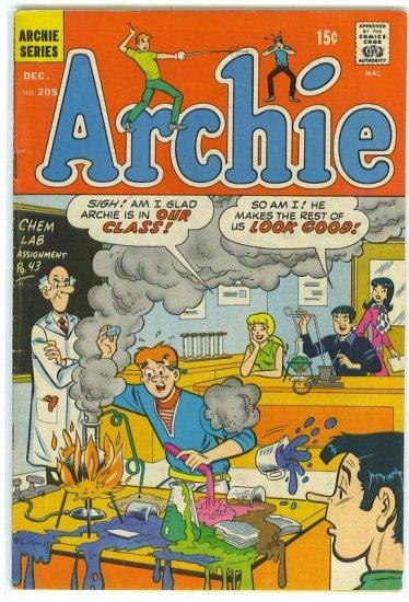 Archie Comics # 205, 4.5 VG +