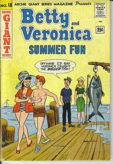 Archie Giant Series Magazine # 18, 2.5 GD +