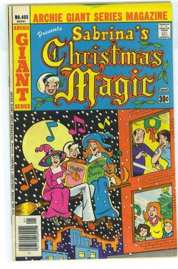 Archie Giant Series Magazine # 455, 4.5 VG +