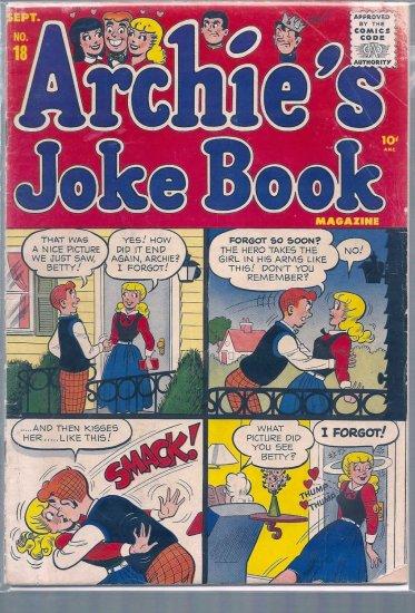 ARCHIE'S JOKE BOOK MAGAZINE # 18, 2.5 GD +