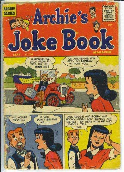 Archie's Joke Book Magazine # 24, 1.0 FR