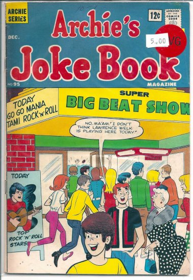 Archie's Joke Book Magazine # 95, 4.0 VG