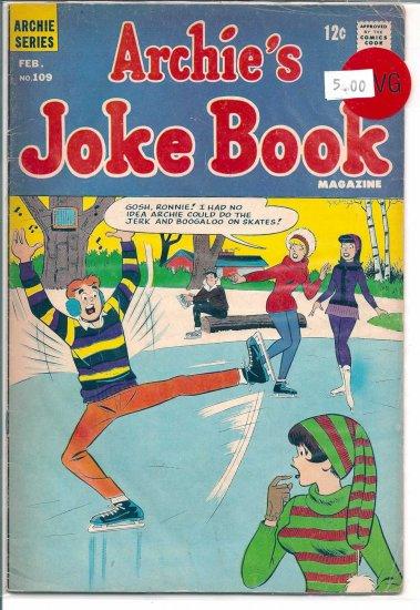 Archie's Joke Book Magazine # 109, 4.0 VG
