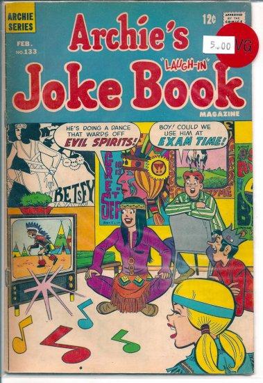 Archie's Joke Book Magazine # 133, 4.0 VG