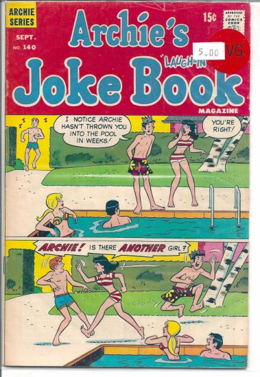 Archie's Joke Book Magazine # 140, 4.0 VG