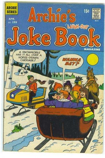 Archie's Joke Book Magazine # 159, 4.0 VG