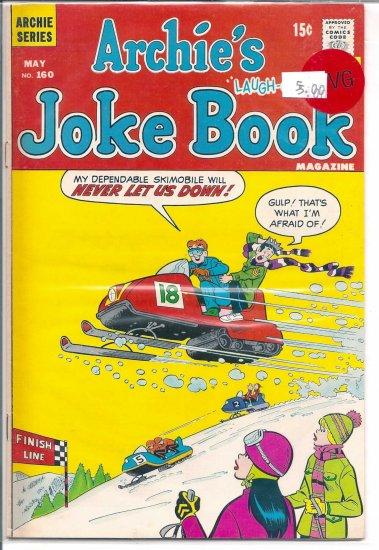Archie's Joke Book Magazine # 160, 4.0 VG