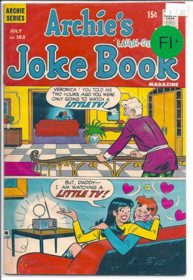Archie's Joke Book Magazine # 162, 6.5 FN +