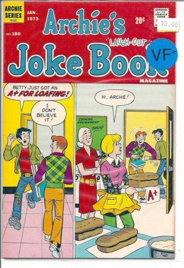Archie's Joke Book Magazine # 180, 7.5 VF -