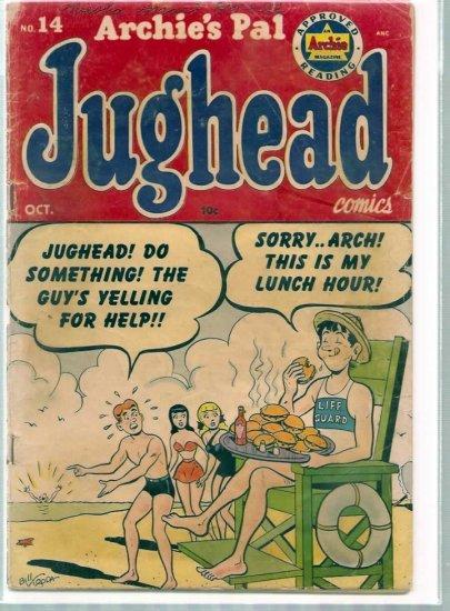 ARCHIE'S PAL JUGHEAD # 14, 2.0 GD