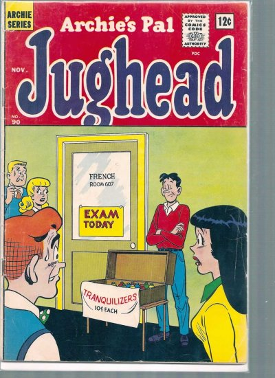 ARCHIE'S PAL JUGHEAD # 90, 3.5 VG -