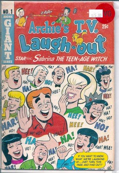 Archie's TV Laugh-Out # 1, 4.0 VG