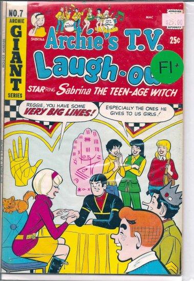 Archie's TV Laugh-Out # 7, 6.5 FN +