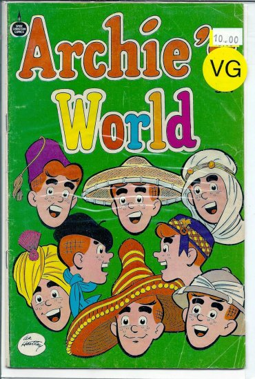 Archie's World # 1, 4.0 VG