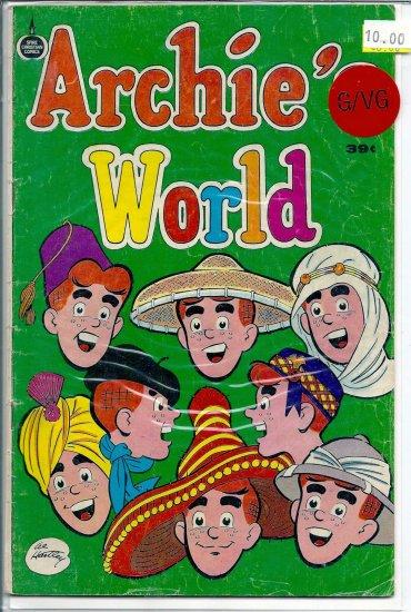 Archie's World # 1, 3.0 GD/VG