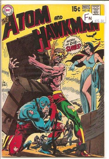 Atom and Hawkman # 45, 6.0 FN
