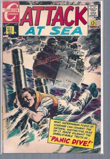 ATTACK AT SEA # 5, 4.5 VG +