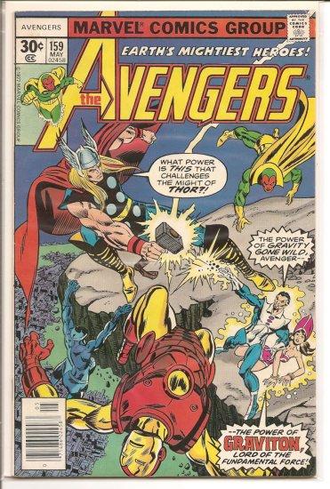 Avengers # 159, 5.0 VG/FN
