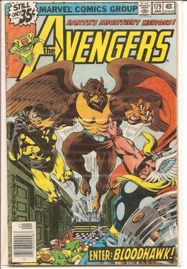 Avengers # 179, 4.0 VG