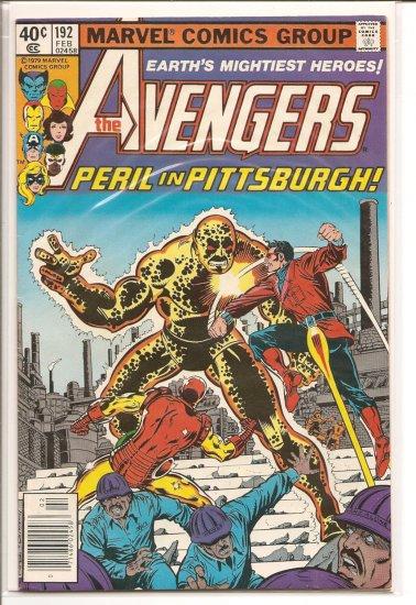 Avengers # 192, 4.5 VG +