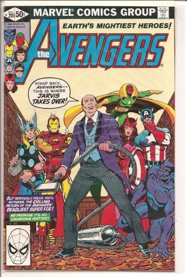 Avengers # 201, 9.0 VF/NM