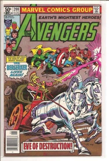 Avengers # 208, 6.0 FN